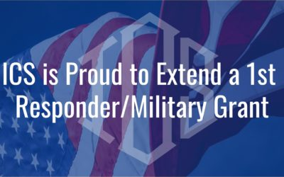 ICS is Proud to Extend a 1st Responder/Military Grant