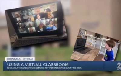 ICS Featured on WMAR TV 2 News