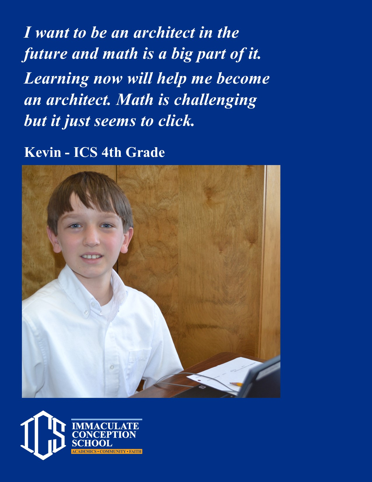 Get to know an ICS student
